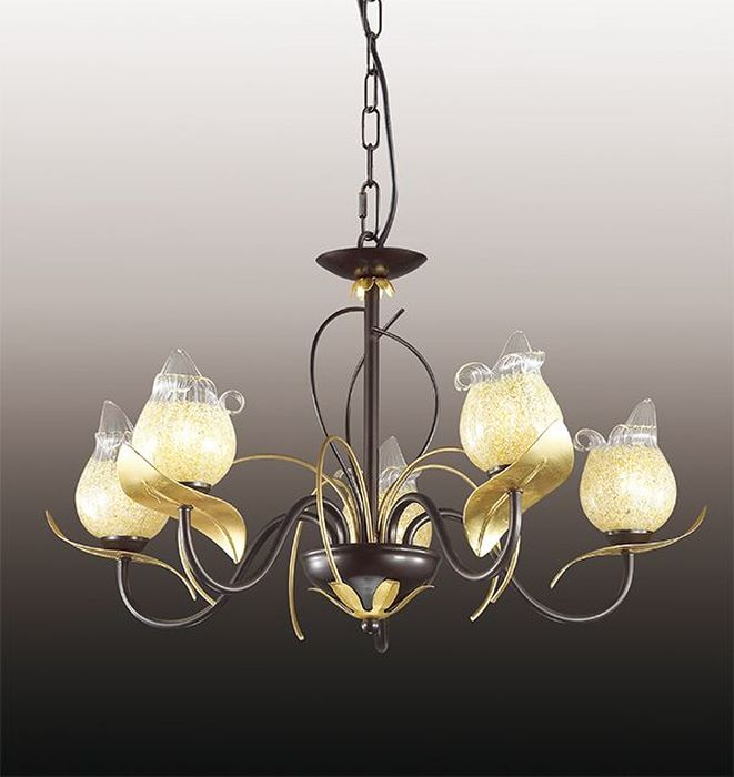 Люстра подвесная Odeon Light Anaba, 5 х G9, 60W. 2691/52691/5
