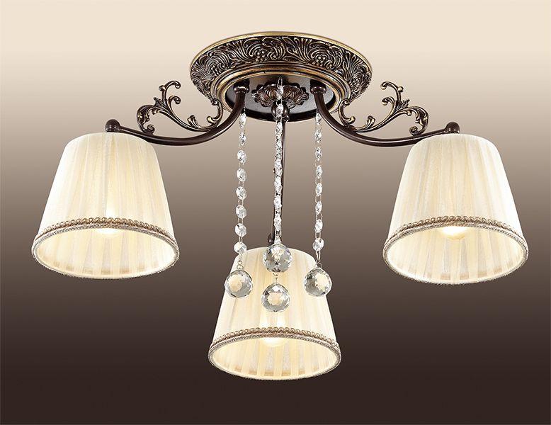 Люстра потолочная Odeon Light Veado, 3 х E14, 60W. 2696/3C