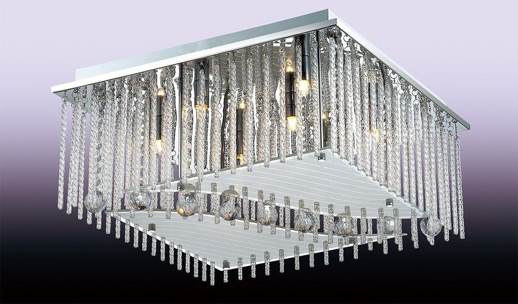 Светильник потолочный Odeon Light Domeka, 8 х G9, 40W. 2706/8C2706/8C