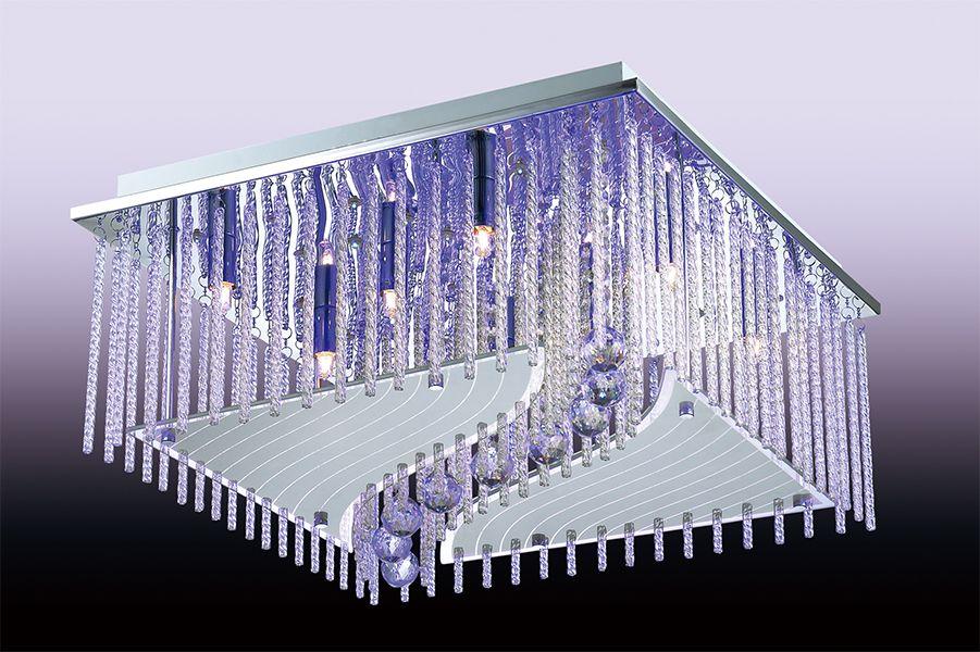 Светильник потолочный Odeon Light Domeka, 8 х G9, 40W. 2706/8CL2706/8CL