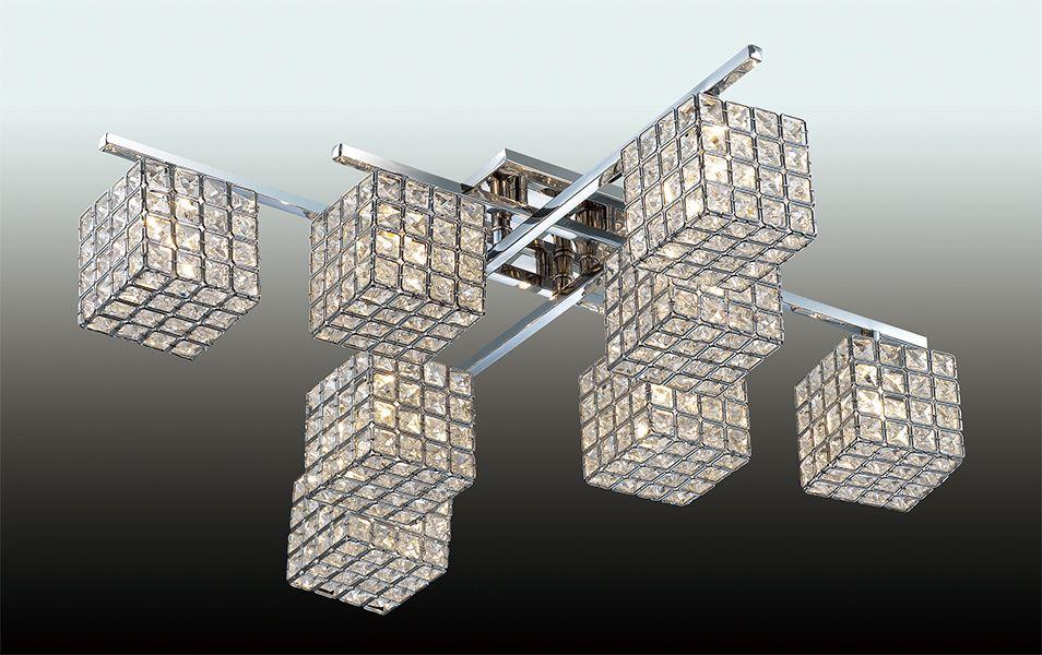 Люстра потолочная Odeon Light Ulfa, 8 х G9, 40W. 2709/8C2709/8C