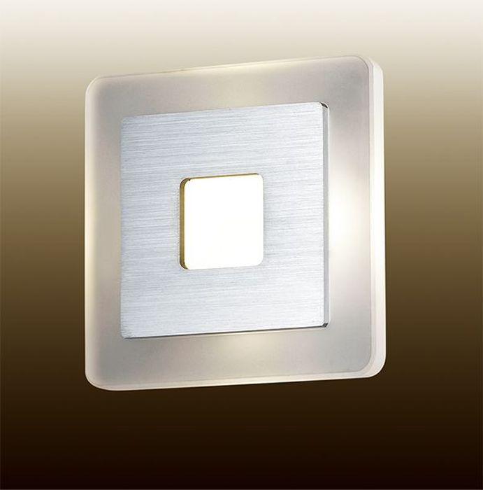 Светильник настенный Odeon Light Amafo, 1 х LED, 4W. 2724/4WL2724/4WL