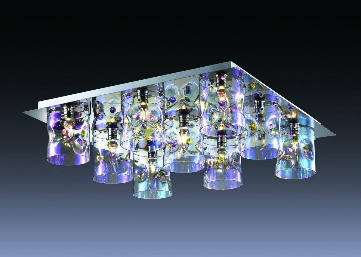 Люстра потолочная Odeon Light Orisa, 9 х G9, 40W. 2730/9C2730/9C