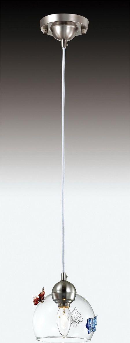 Светильник подвесной Odeon Light Meleta, 1 х E14, 40W. 2765/12765/1