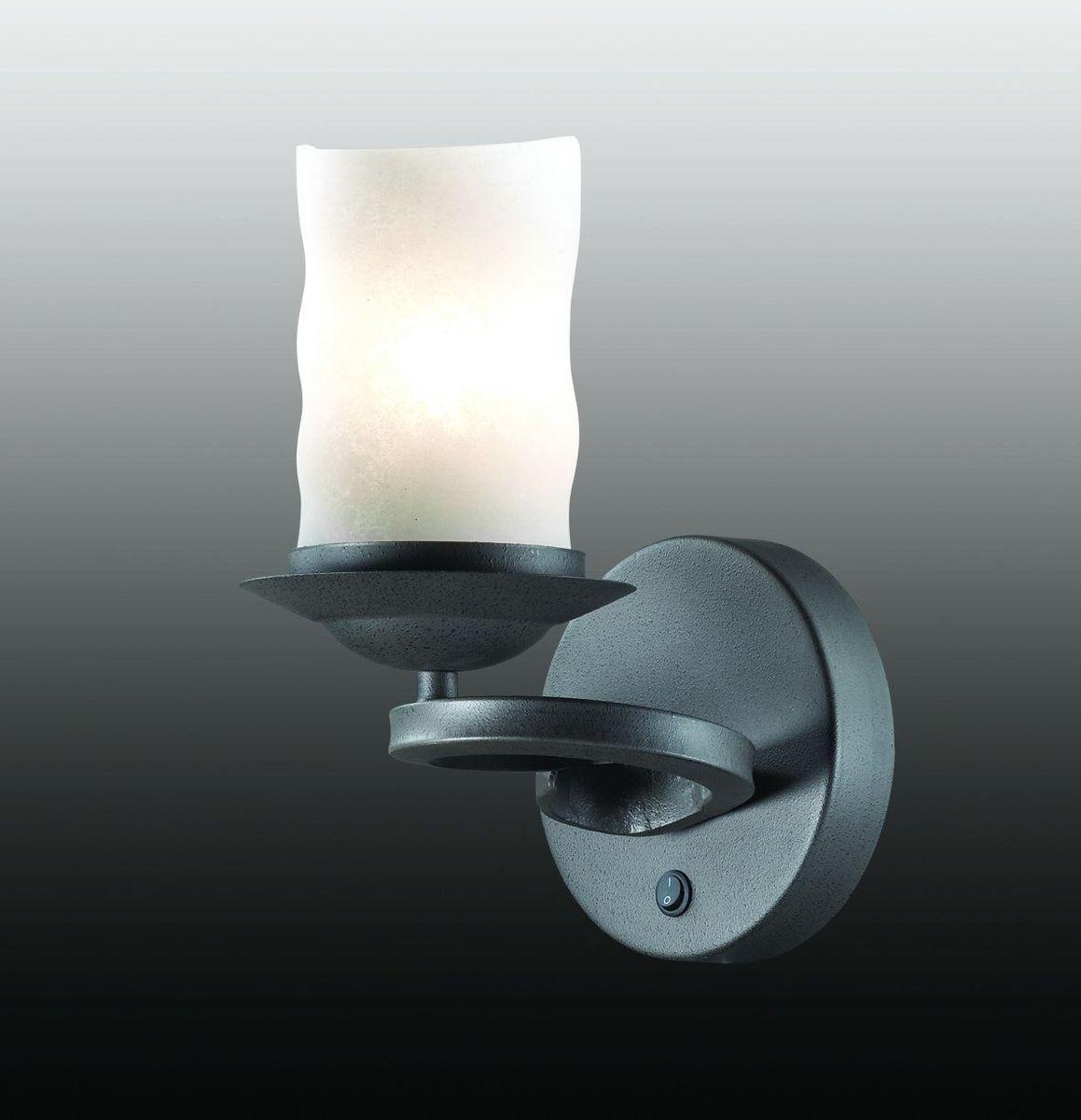 Бра Odeon Light Brin, 1 х E27, 60W. 2766/1W odeon light бра odeon light brin 2766 1w