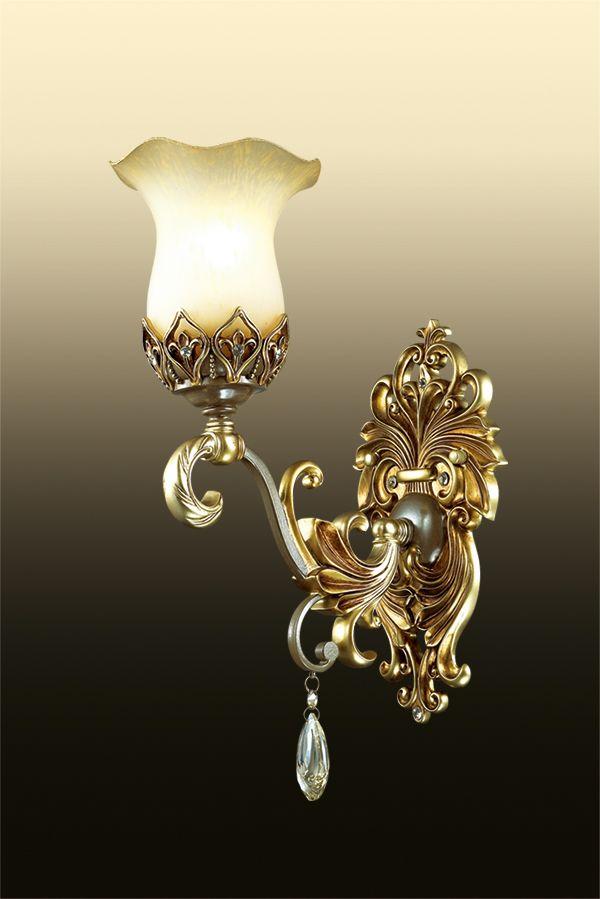 Бра Odeon Light Safira, 1 х E27, 60W. 2802/1W2802/1W