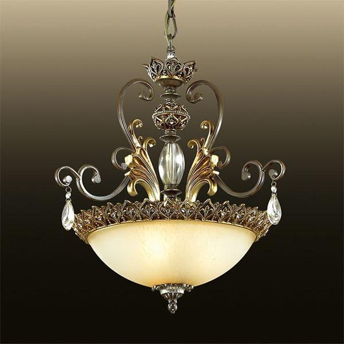 Светильник подвесной Odeon Light Safira, 3 х E27, 60W. 2802/32802/3