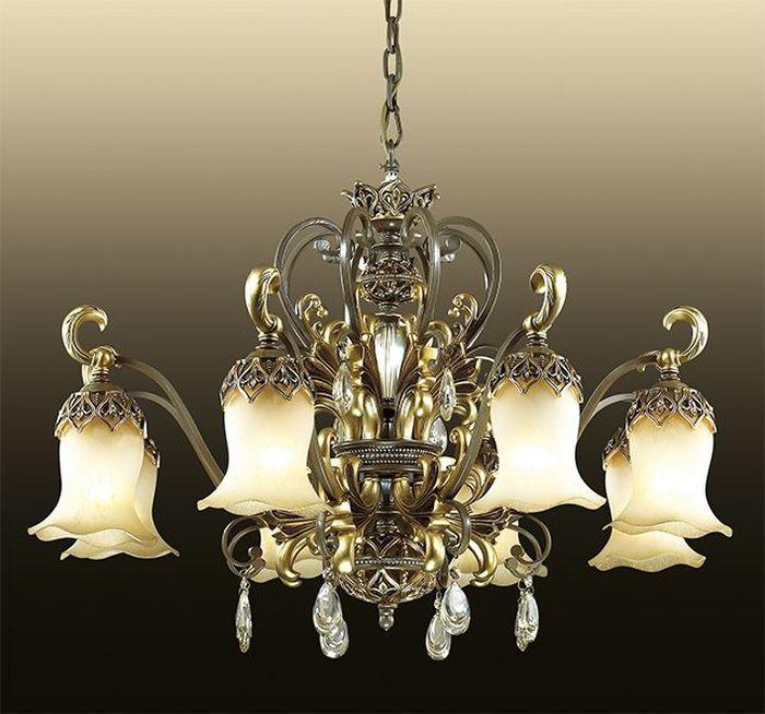 Люстра подвесная Odeon Light Safira, 8 х E27, 60W. 2802/82802/8