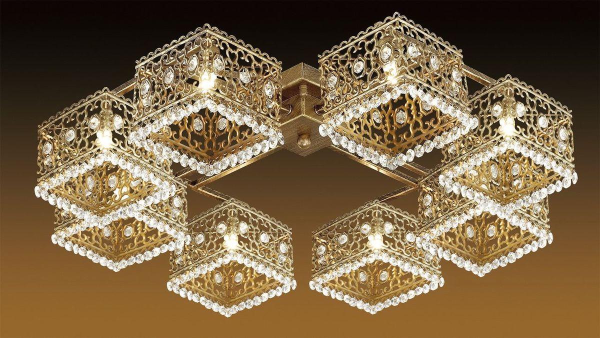 Люстра потолочная Odeon Light Sesam, 8 х G9, 40W. 2835/8C2835/8C