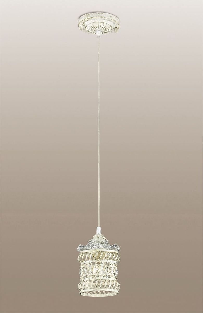 Светильник подвесной Odeon Light Zafran, 1 х E14, 40W. 2837/12837/1