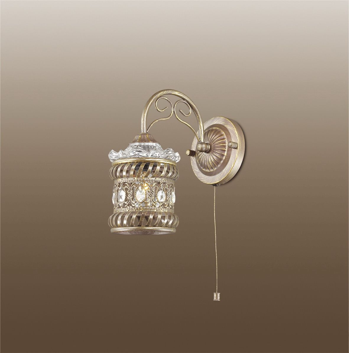 Бра Odeon Light Zafran, 1 х E14, 40W. 2838/1W2838/1W