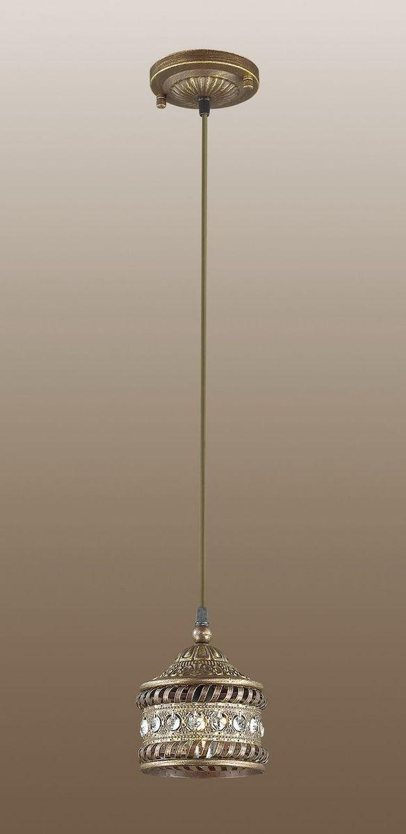 Светильник подвесной Odeon Light Bahar, 1 х E14, 40W. 2839/12839/1