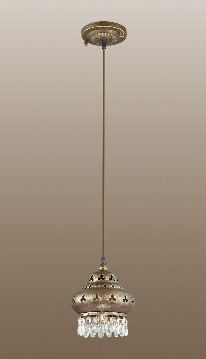 Светильник подвесной Odeon Light Bahar, 1 х E14, 40W. 2841/12841/1