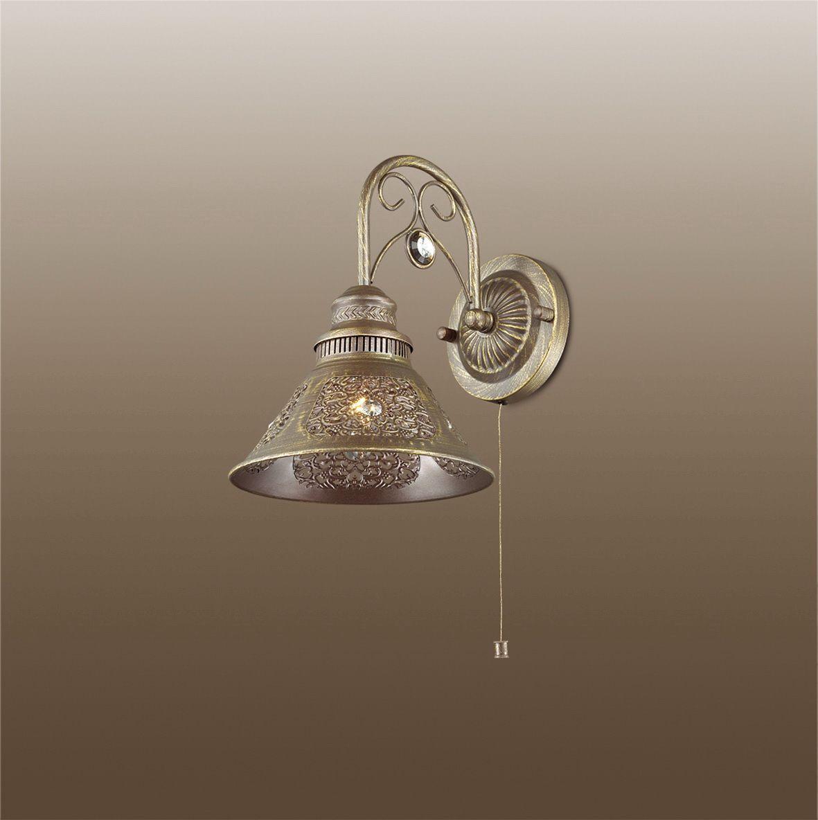 Бра Odeon Light Kamun, 1 х E14, 40W. 2843/1W2843/1W