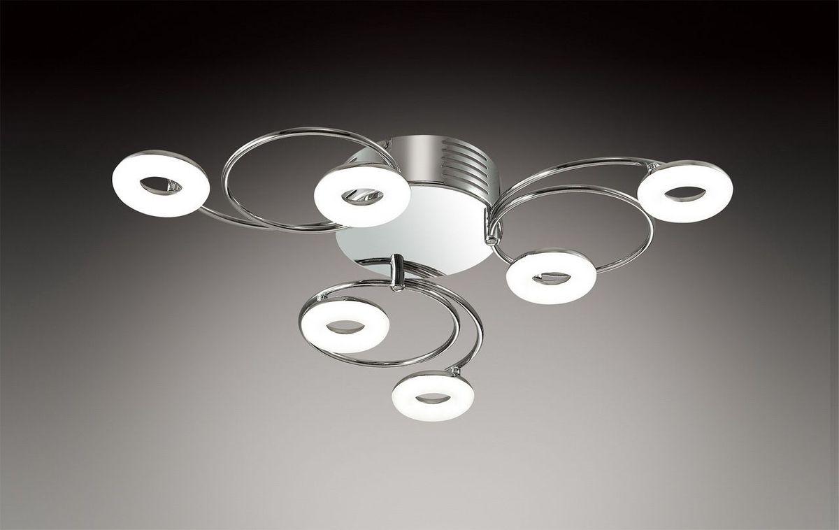 Светильник потолочный Odeon Light Leola, 6 х LED, 4W. 2864/6LC2864/6LC