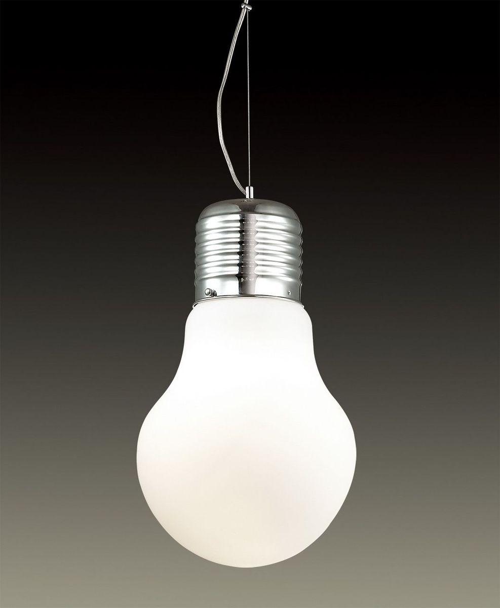 Светильник подвесной Odeon Light Bulb, 1 х E27, 60W. 2872/1