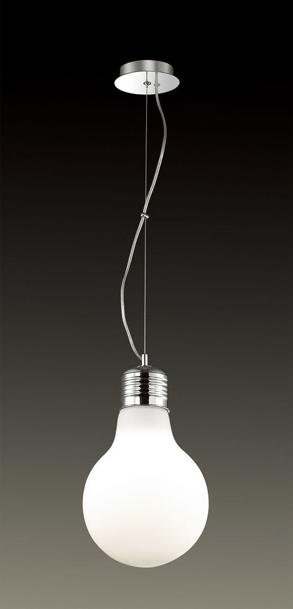 Светильник подвесной Odeon Light Bulb, 1 х E27, 60W. 2872/1A