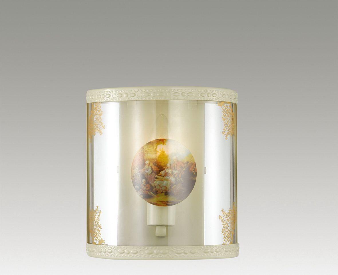 Светильник настенный Odeon Light Kimona, 1 х E14, 40W. 2874/1W2874/1W