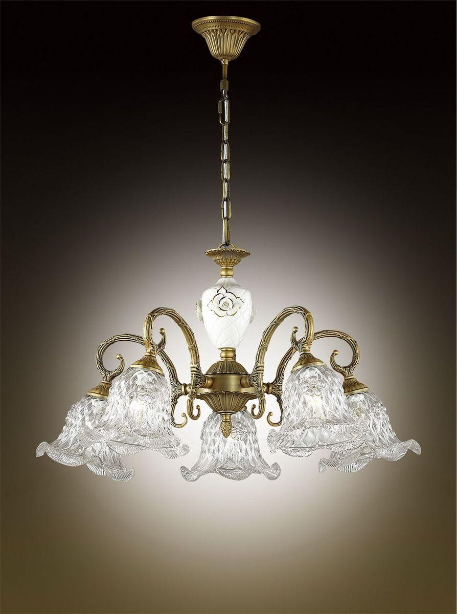 Люстра подвесная Odeon Light Victori, 5 х E14, 60W. 2884/5 бра odeon light victori арт 2884 1w