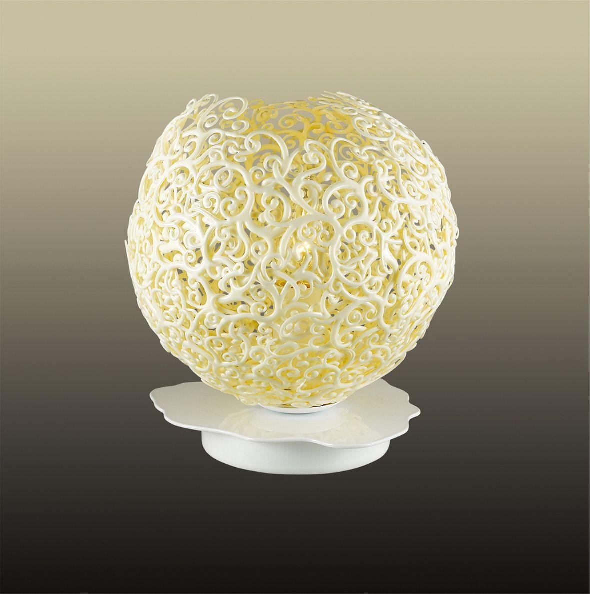 Лампа настольная Odeon Light Spuma, 1 х E14, 60W. 2891/1T2891/1T