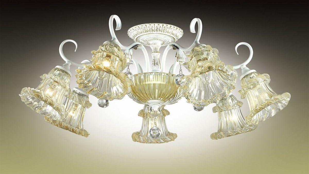 Люстра потолочная Odeon Light Salmora, 7 х E14, 60W. 2894/7C2894/7C