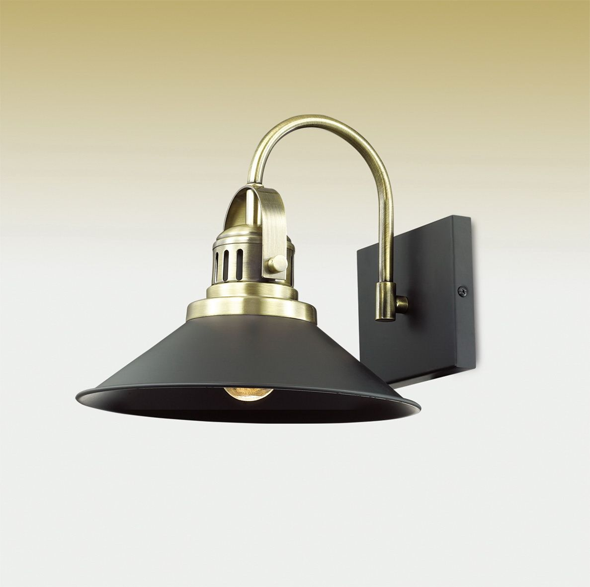Бра Odeon Light Latura, 1 х E27, 60W. 2898/1W
