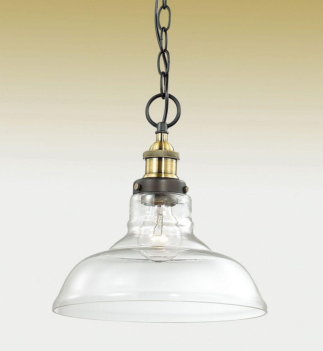 Светильник подвесной Odeon Light Latura, 1 х E27, 60W. 2899/12899/1