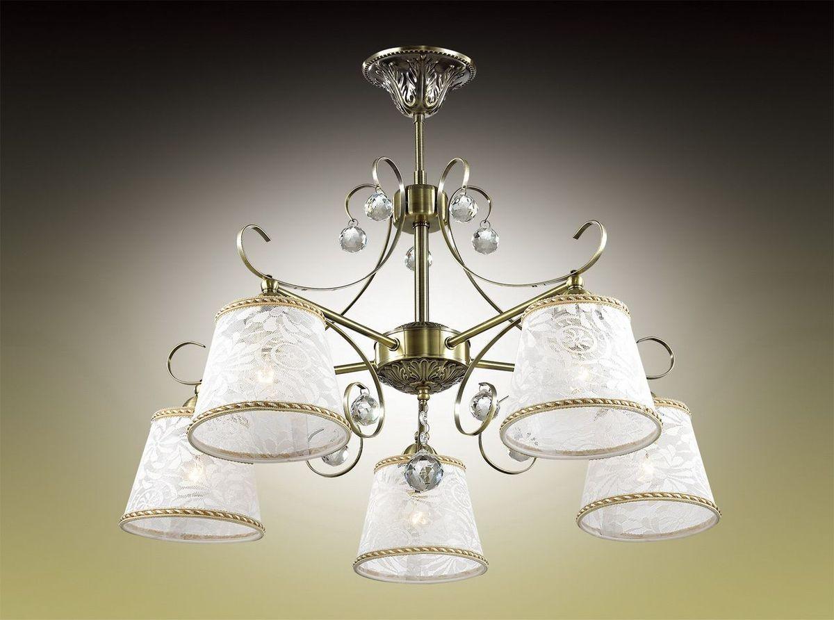 Люстра потолочная Odeon Light Poloma, 5 х E14, 40W. 2918/5C2918/5C
