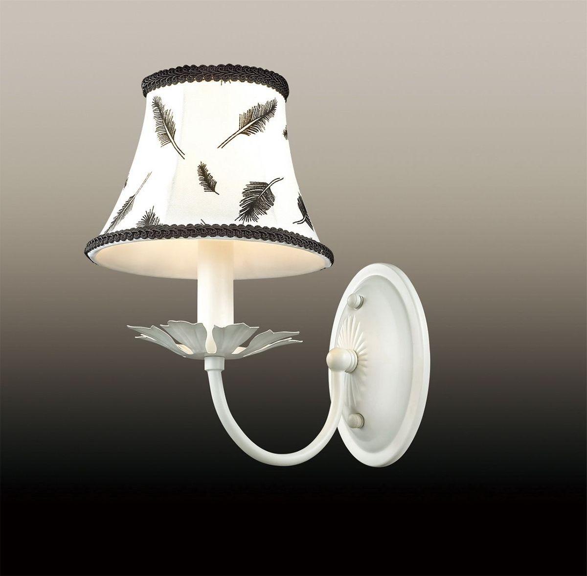 Бра Odeon Light Novola, 1 х E14, 40W. 2920/1W2920/1W