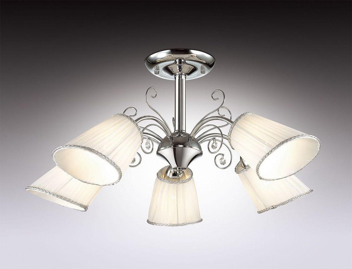 Люстра потолочная Odeon Light Fornelo, 5 х E14, 40W. 2928/5C люстра на штанге odeon light pepina 3464 5c