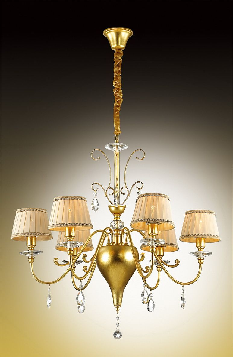 Люстра подвесная Odeon Light Alpes, 6 х E14, 40W. 2937/62937/6