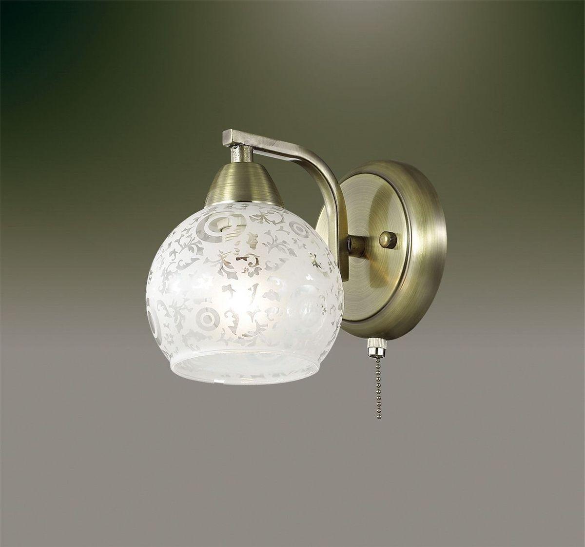 Бра Odeon Light Girona, 1 х E14, 60W. 2942/1W2942/1W