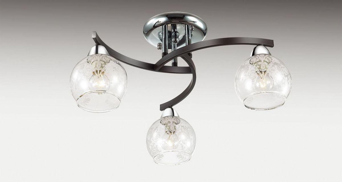 Люстра потолочная Odeon Light Vanes, 3 х E14, 60W. 2943/3C2943/3C