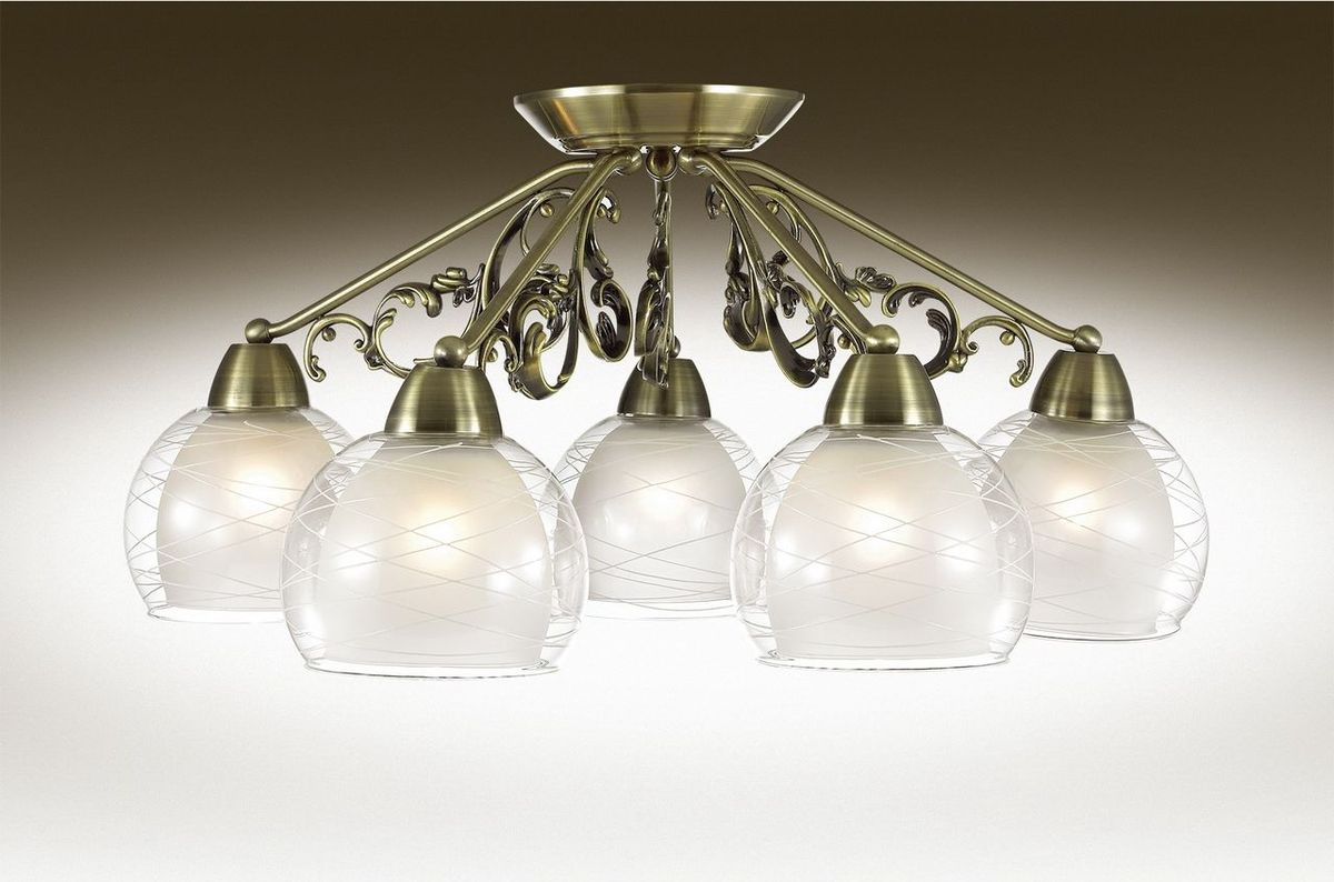 Люстра потолочная Odeon Light Balina, 5 х E27, 60W. 2944/5C2944/5C