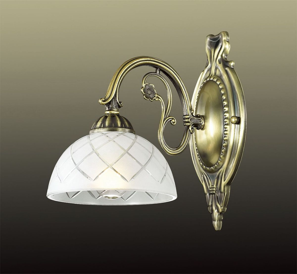 Бра Odeon Light Emeril, 1 х E27, 60W. 2945/1W2945/1W