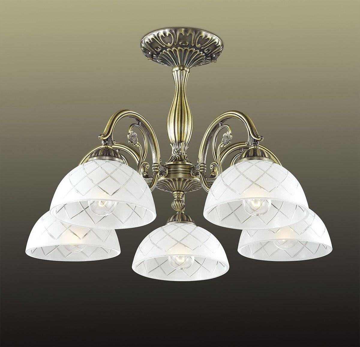 Люстра потолочная Odeon Light Emeril, 5 х E27, 60W. 2945/5C2945/5C