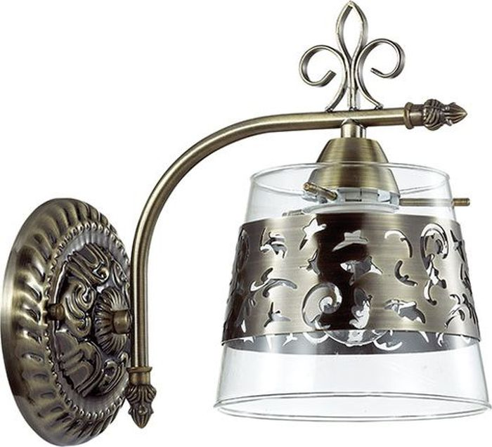 Бра Odeon Light Sansa, 1 х E14, 40W. 3127/1W3127/1W