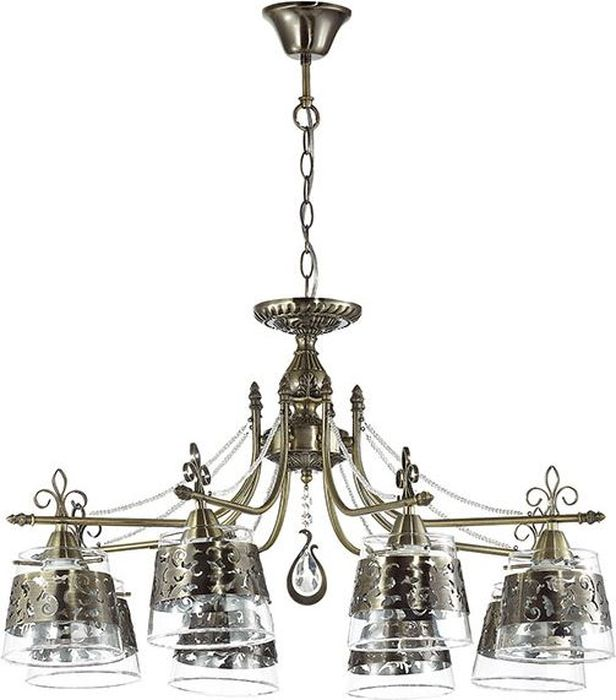 Люстра подвесная Odeon Light Sansa, 8 х E14, 40W. 3127/83127/8