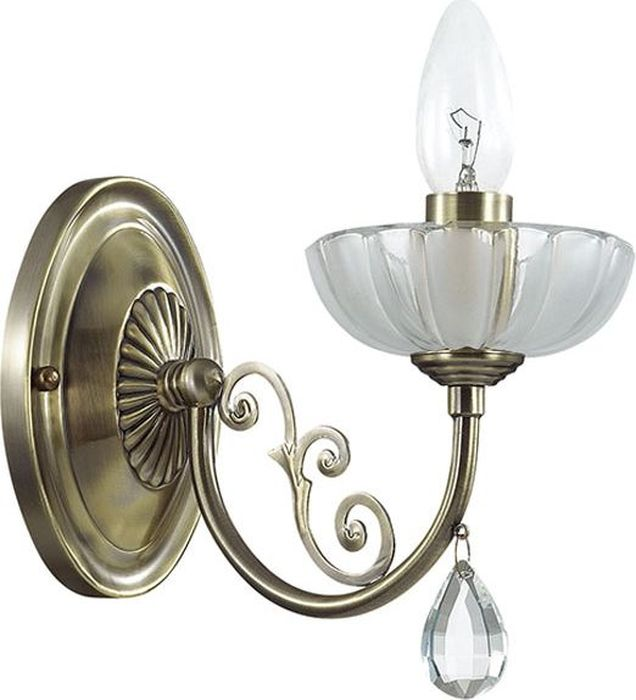 Бра Odeon Light Perlita Bronze, 1 х E14, 60W. 3138/1W3138/1W
