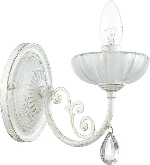 Бра Odeon Light Perlita White, 1 х E14, 60W. 3139/1W3139/1W