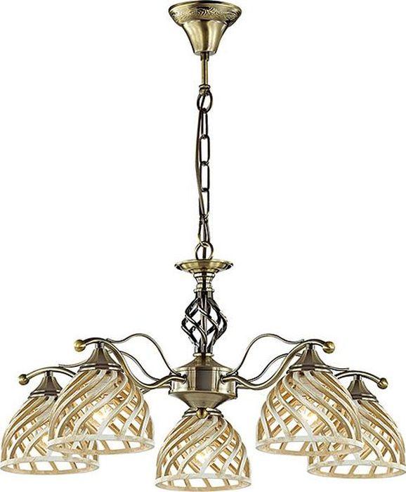Люстра подвесная Odeon Light Aretta, 5 х E27, 60W. 3199/53199/5