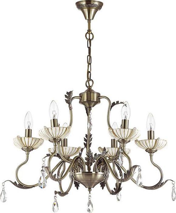 Люстра подвесная Odeon Light Adana, 6 х E14, 60W. 3215/63215/6