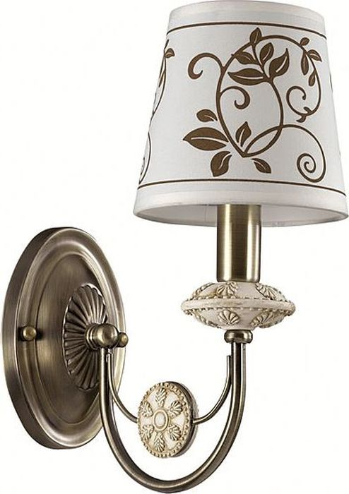 Бра Odeon Light Zaritta, 1 х E14, 40W. 3216/1W3216/1W