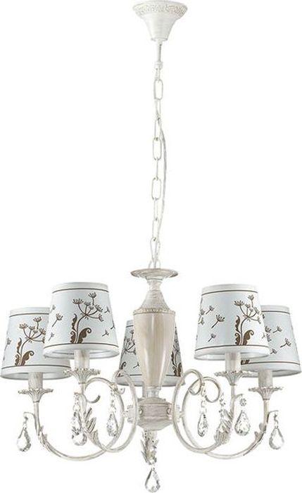 Люстра подвесная Odeon Light Gabinna White, 5 х E14, 40W. 3219/53219/5