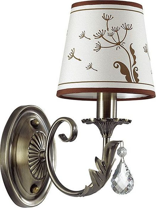 Бра Odeon Light Gabinna Bronze, 1 х E14, 40W. 3220/1W3220/1W