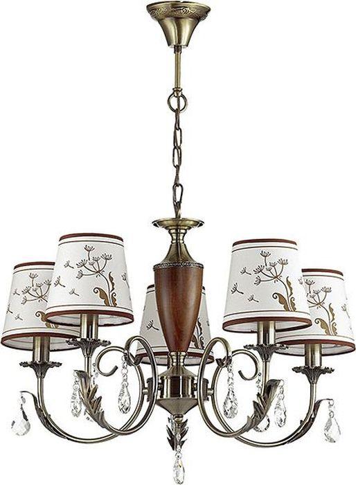 Люстра подвесная Odeon Light Gabinna Bronze, 5 х E14, 40W. 3220/53220/5