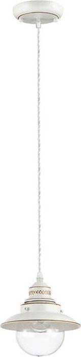 Светильник подвесной Odeon Light Sandrina White, 1 х E27, 60W. 3248/13248/1