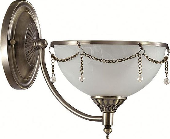 Бра Odeon Light Pascalla, 1 х E27, 60W. 3278/1W3278/1W