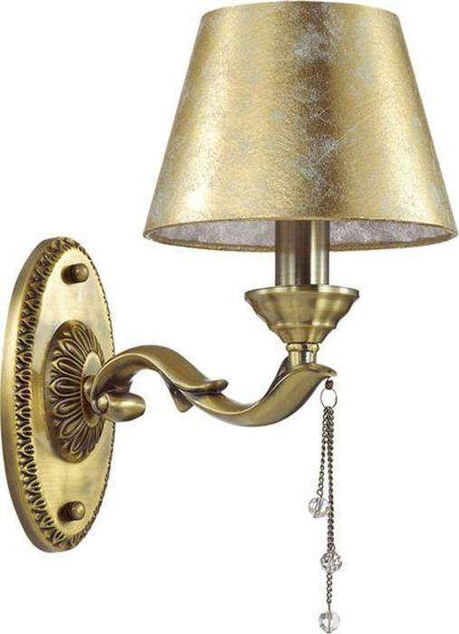 Бра Odeon Light Femina Bronze, 1 х E14, 40W. 3279/1W