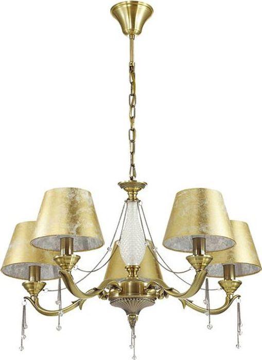 Люстра подвесная Odeon Light Femina Bronze, 5 х E14, 40W. 3279/53279/5
